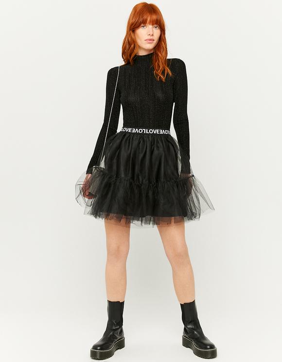 Tulle Mini Skirt