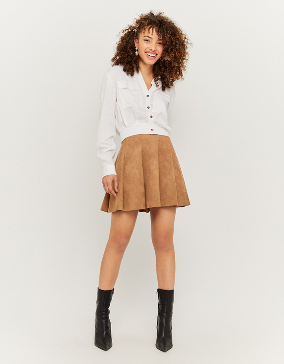 Jupe Patineuse Beige