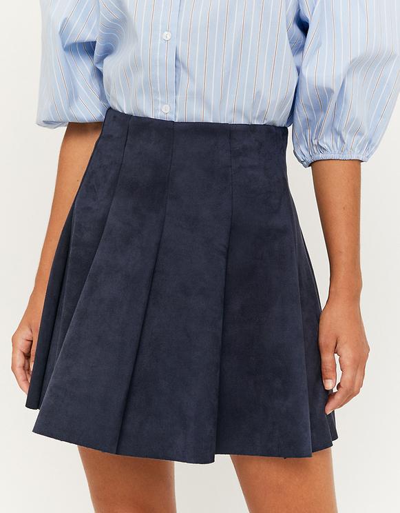 Navy Skater Skirt