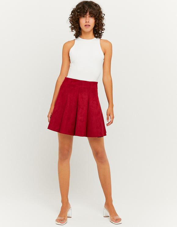 Suedette Mini Skirt