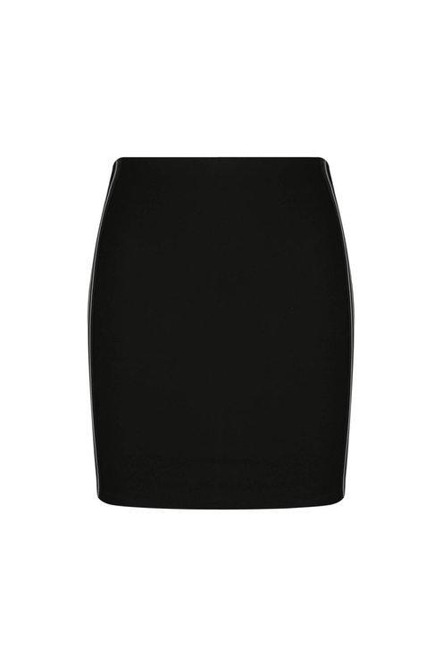 Black Side Stripe Skirt