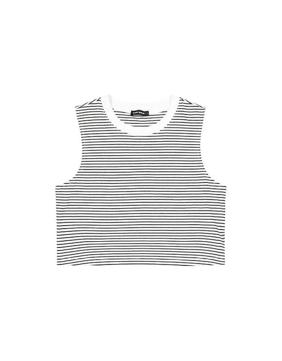Striped Sleeveless Top