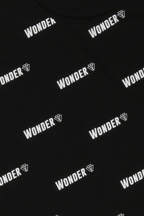 "Black  ""Wonder"" Tank Top"