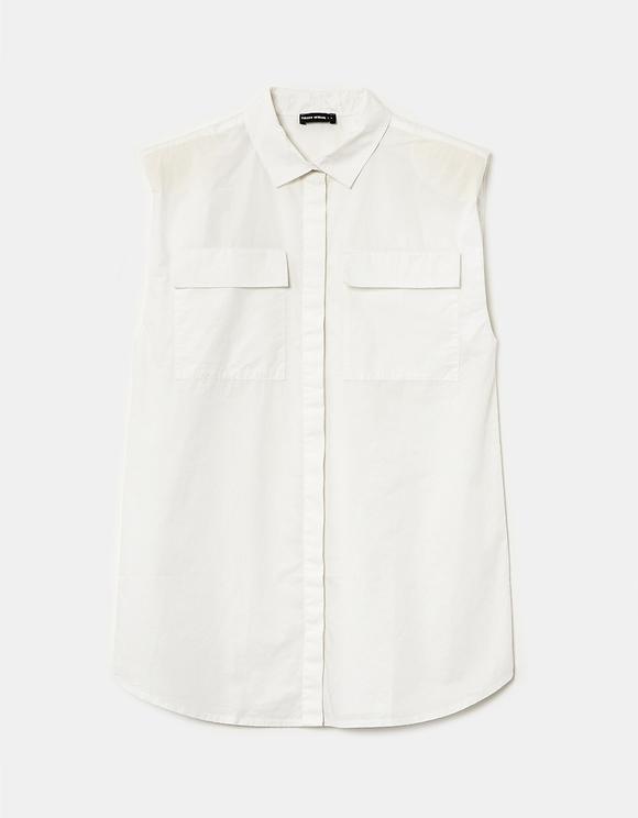 Weißes Basic Hemd