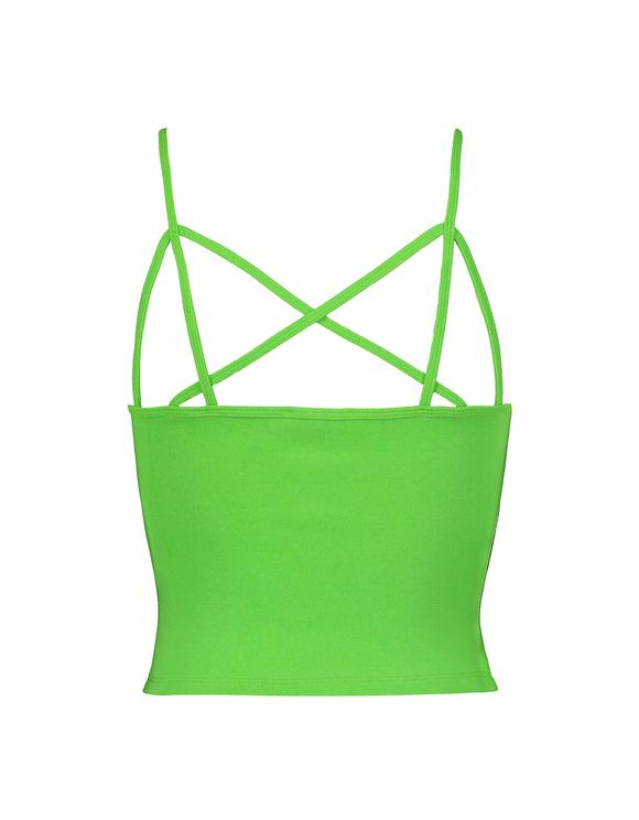 Neon Green Tank Top