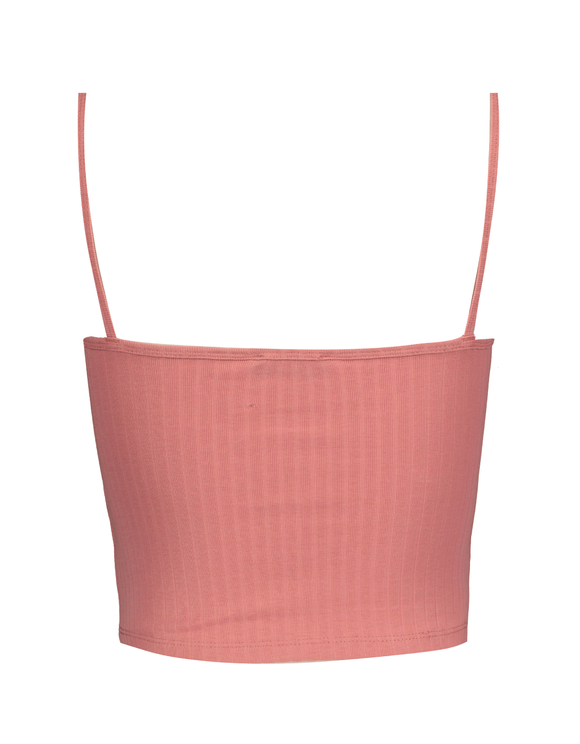 Pink Basic Crop Top