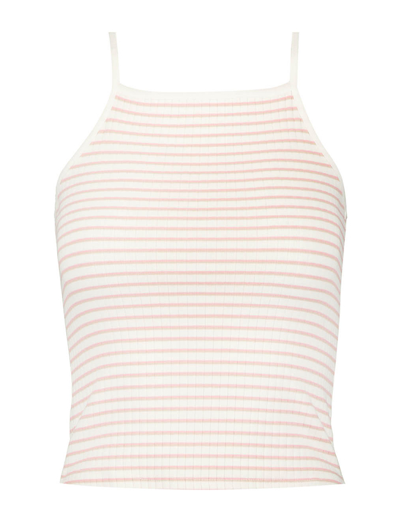 Light Pink Striped Top