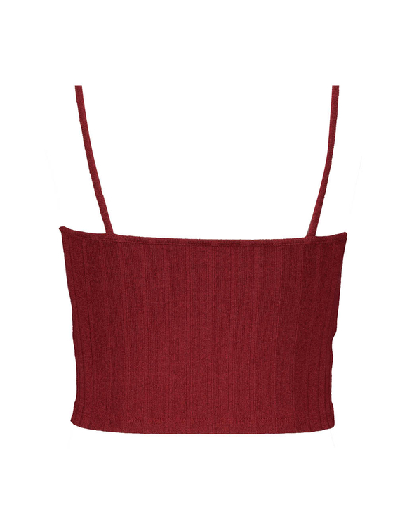 Red Twisted Top