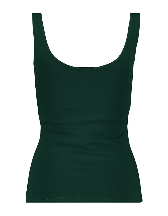 Grünes Träger Top