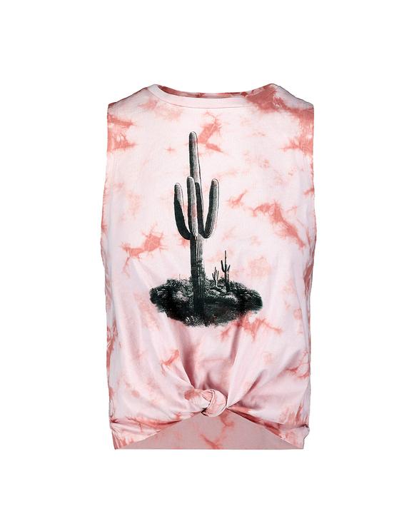 Pink Tie Dye Top