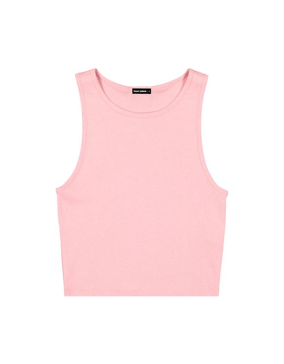 Pink Basic Tank Top
