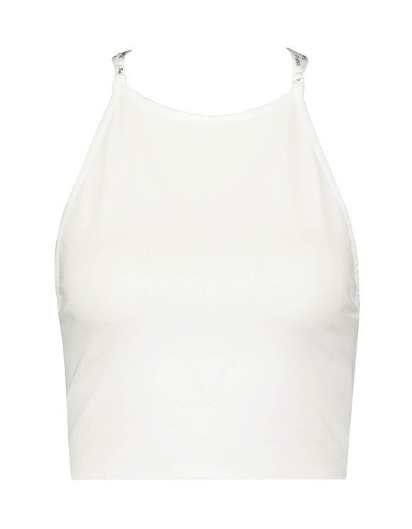 White Top with Open Back