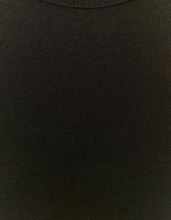 Schwarzes Basic Träger Top