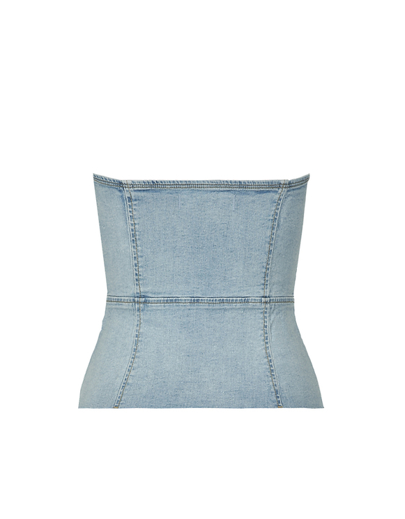 Denim Bustier