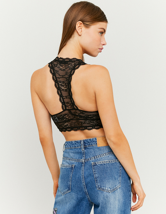 Wrap Lace Bralet