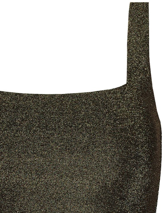 Golden Lurex Tank Top