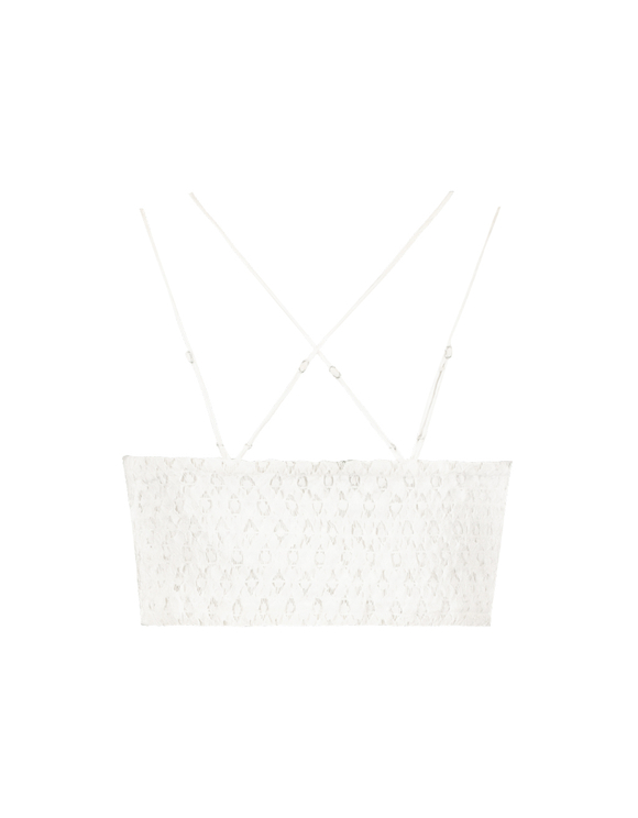 White Lace Bralet