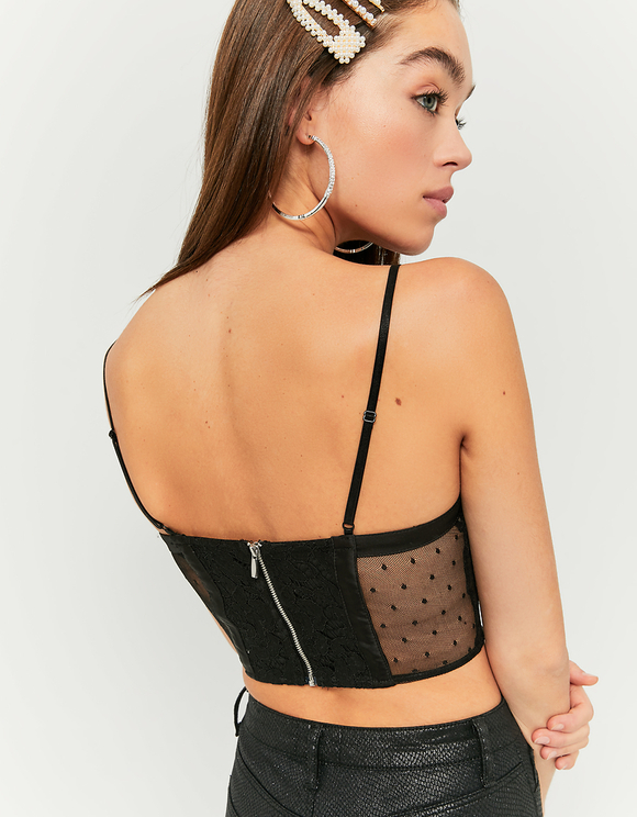 Black Lace Bralet