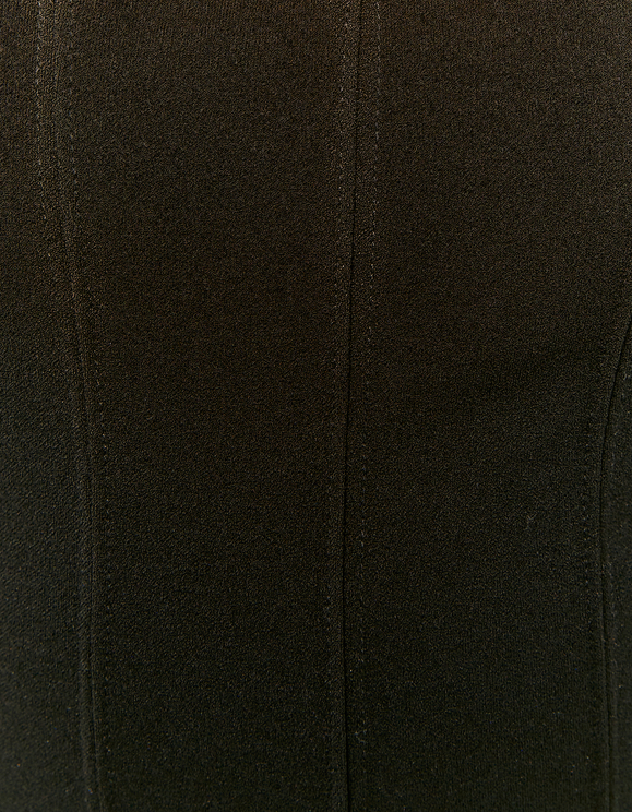 Black Corset Design Top