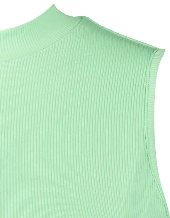 Green Open Back Top