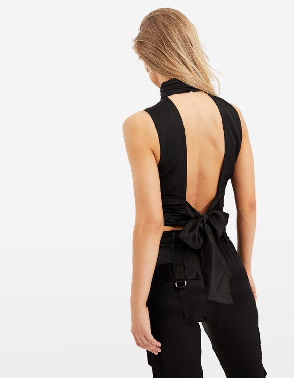 Black Top with Cut Outs