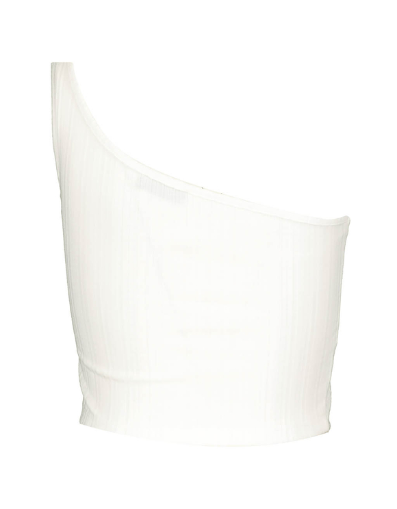 Crop Top Blanc
