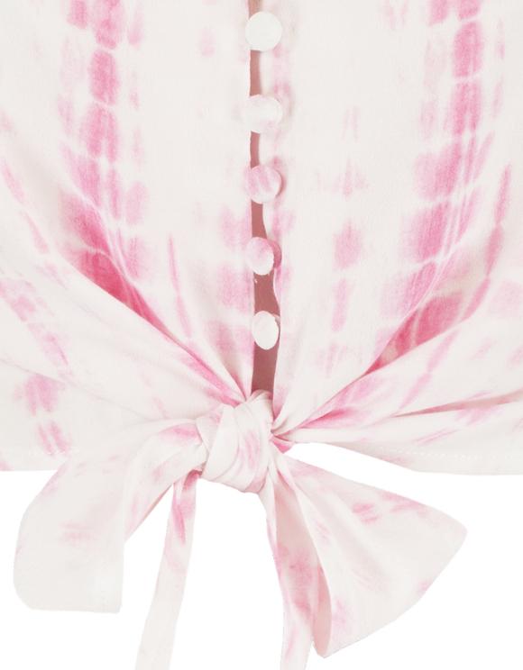 Débardeur Rose Tie & Dye