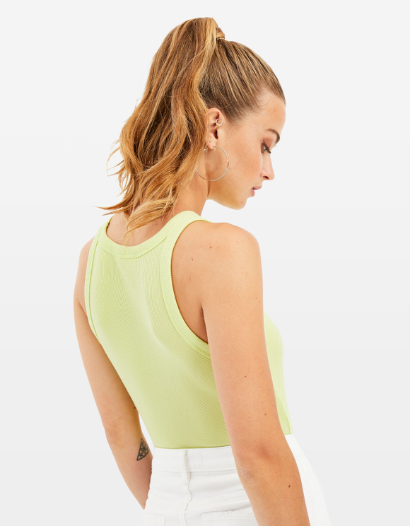 Neon Yellow Tank Top