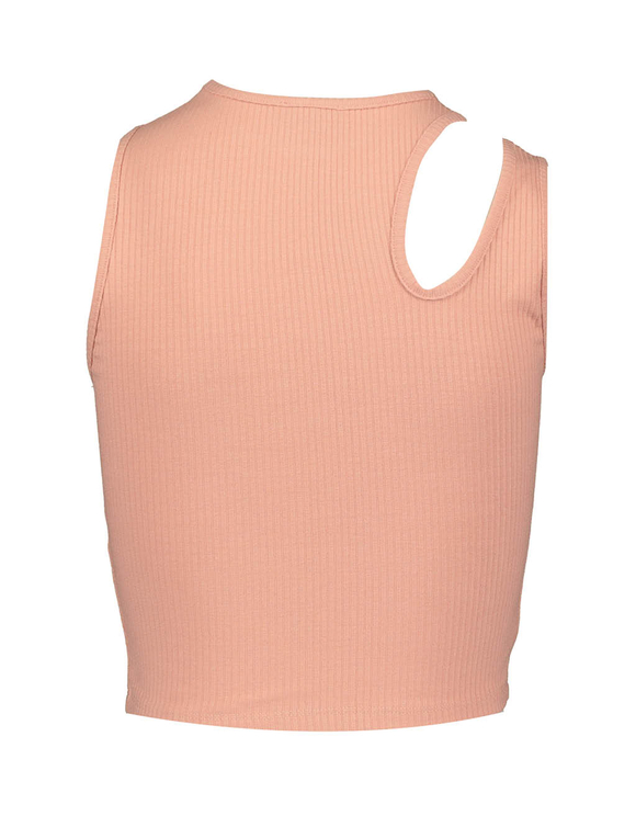 Top Rosa con Cut Out