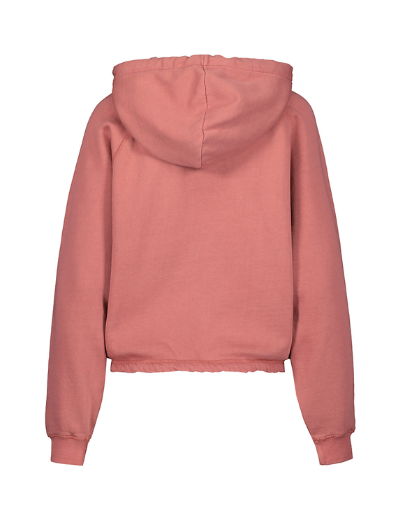 Pink Hoodie with Drawstring