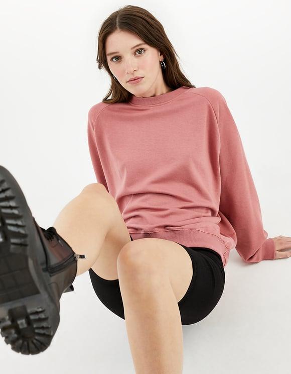 Pink Oversize Sweatshirt