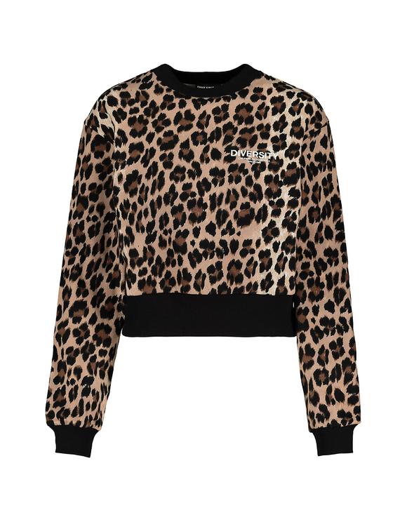 Sweatshirt mit Leo-Muster