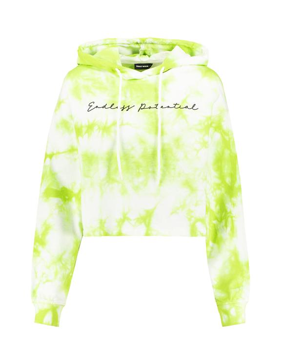 Green Tie & Dye Sweatshirt