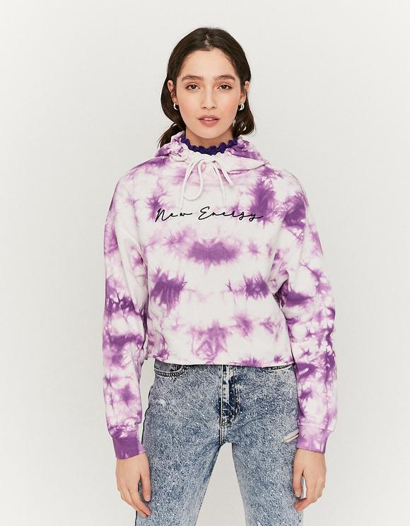 Sweat Tie & Dye Violet