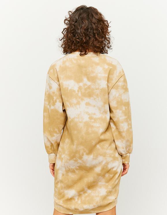 Robe-Sweat Imprimé Tie Dye