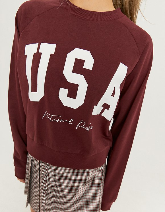 Printed Sweatshirt