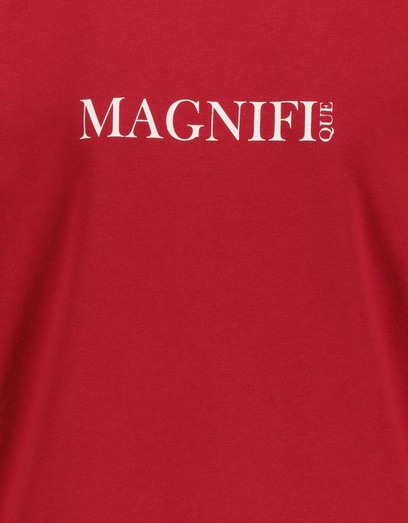 Sweat Rouge à Slogan