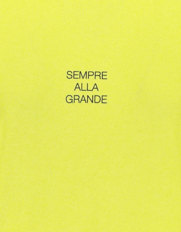 Felpa Lime con Slogan