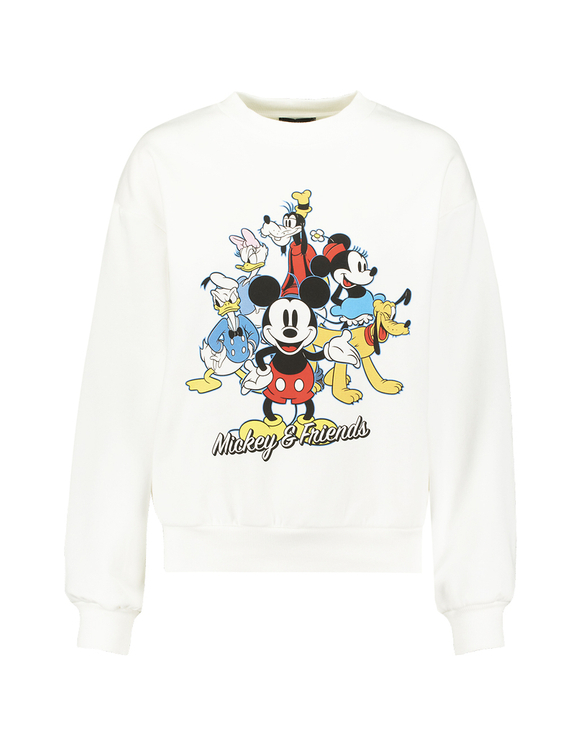 Sweat Blanc Mickey