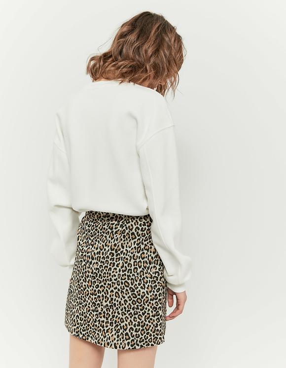 Biała bluza z nadrukiem!
