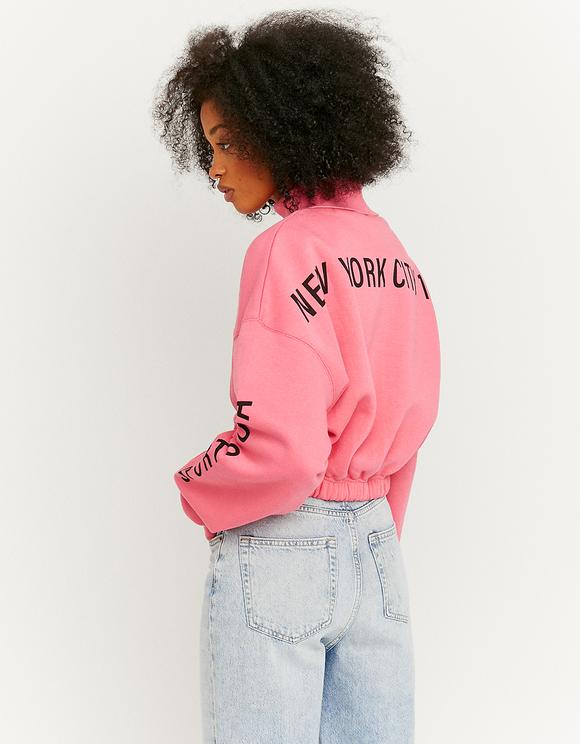 Pink Loose Sweatshirt