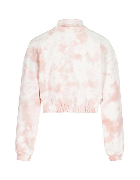 Pink Tie & Dye Sweatshirt