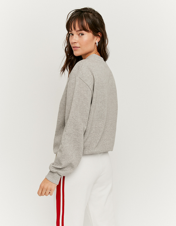 Graues Mickey Mouse Sweatshirt