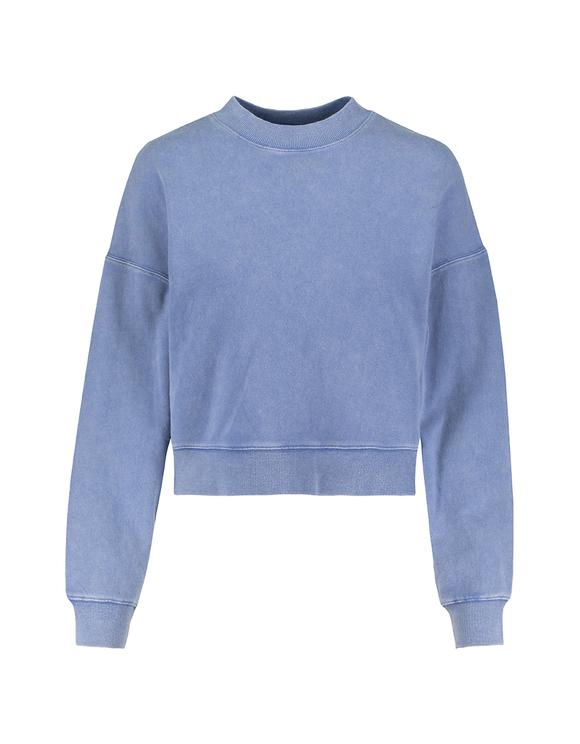 Washed Blue Sweatshirt