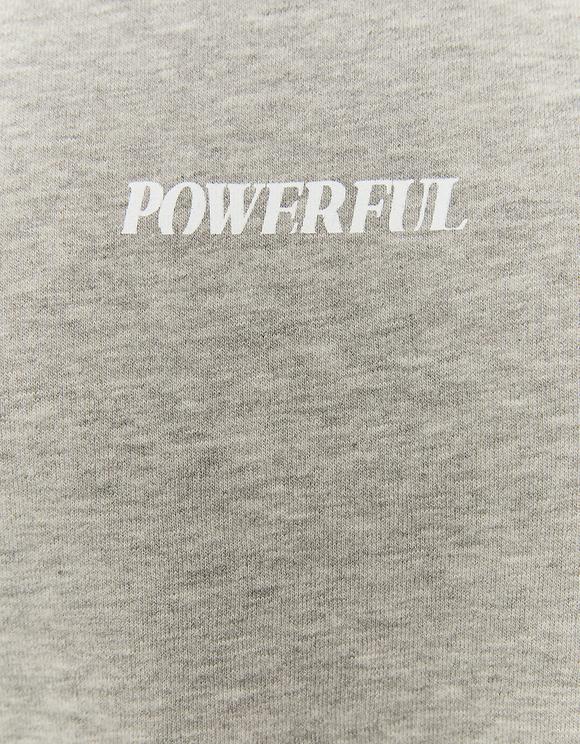 Grey Wide Sweatshirt