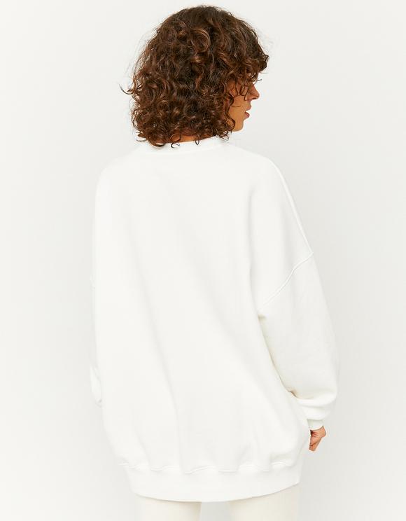 Sweat Imprimé Blanc