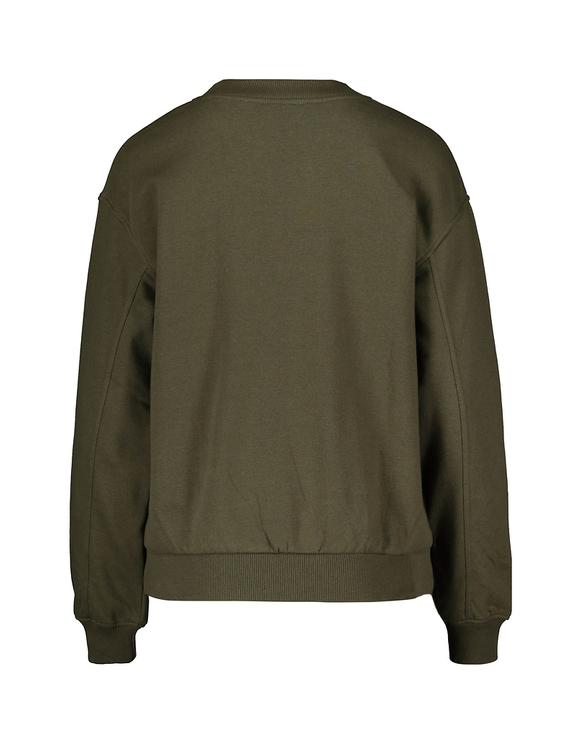 Khaki luźna bluza