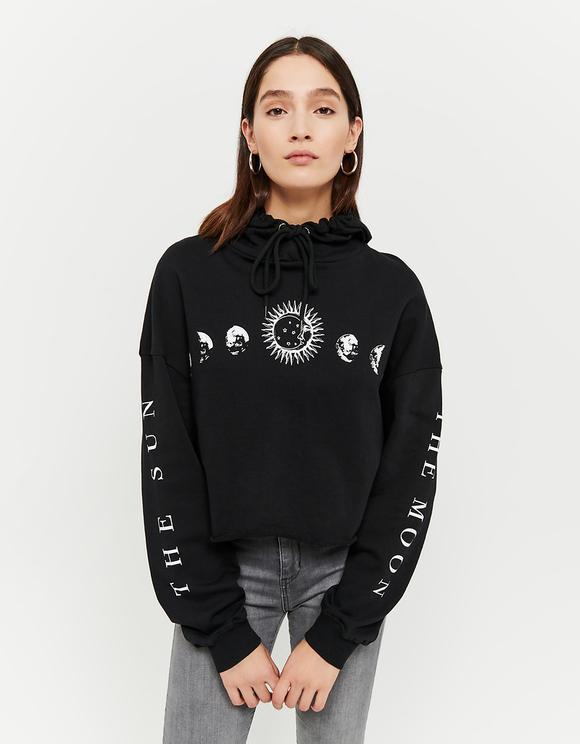 Schwarzes Astro Sweatshirt