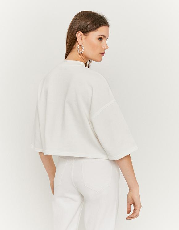 Sweat T-Shirt Blanc