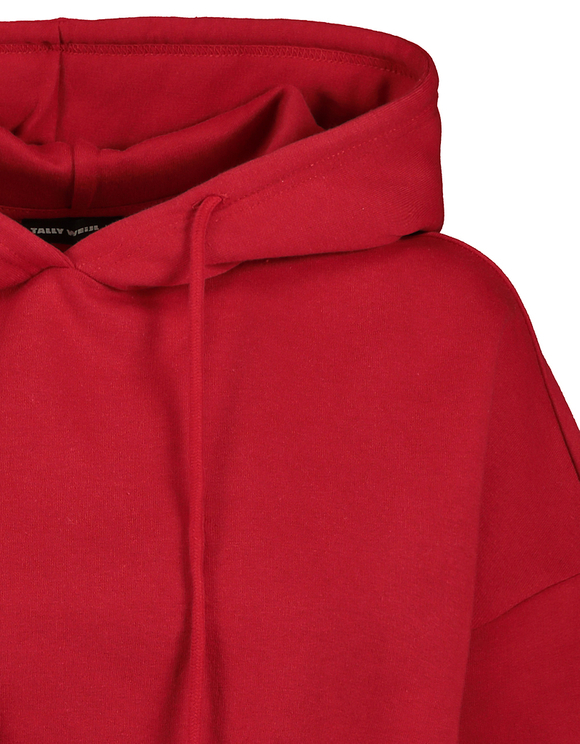 Sweat Rouge avec Cordon de Serrage